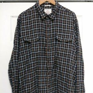 Lucky Brand  Mens Classic Fit lined plaid xxl
